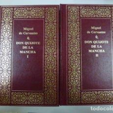 Libros de segunda mano: DON QUIJOTE DE LA MANCHA TOMO I Y II. PLANETA.. Lote 165624026