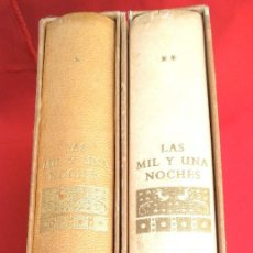 Libros de segunda mano: LAS MIL Y UNA NOCHES (2 TOMOS).+ DIBUJOS J. NARRO 1964. Lote 165664606