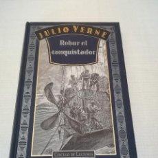 Libros de segunda mano: ROBUR EL CONQUISTADOR (JULIO VERNE) - CÍRCULO DE LECTORES. Lote 166022262