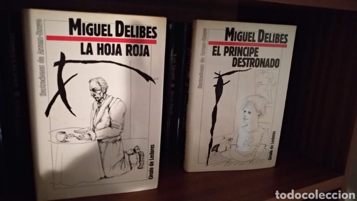 LA HOJA ROJA Y EL PRÍNCIPE DESTRONADO. MIGUEL DELIBES (Libros de Segunda Mano (posteriores a 1936) - Literatura - Narrativa - Clásicos)