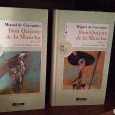 Libros de segunda mano: DON QUIJOTE DE LA MANCHA. 1ª Y 2ª PARTE. Lote 166034882