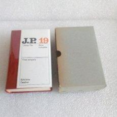 Libros de segunda mano: PLA, JOSEP - TRES SENYORS. OBRA COMPLETA 19 - BARCELONA 1971 - 1ª EDICIÓ DESTINO. Lote 166415566