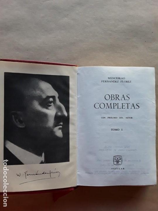 Libros de segunda mano: Wenceslao Fernández florez,obras completas,tomo I,aguilar. - Foto 4 - 166705258