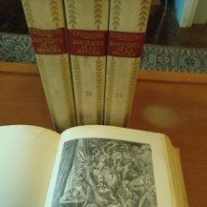 Libros de segunda mano: DON QUIJOTE DE LA MANCHA - CERVANTES, ILUSTRACIONES DORÉ (ESICIONES CASTILLA). Lote 166719753