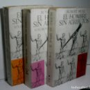 Libros de segunda mano: EL HOMBRE SIN ATRIBUTOS. 3 VOLÚMENES. MUSIL ROBERT. 1965. Lote 166795622
