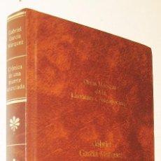 Libros de segunda mano: CRONICA DE UNA MUERTE ANUNCIADA - GABRIEL GARCIA MARQUEZ. Lote 167029796