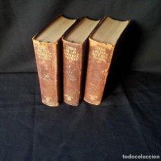 Libros de segunda mano: R. CANSINOS ASSENS - LAS MIL Y UNA NOCHES - 3 TOMOS, AGUILAR - PRIMERA EDICIÓN MÉXICO 1958. Lote 167166916