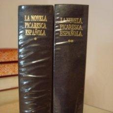 Libros de segunda mano: LA NOVELA PICARESCA ESPAÑOLA. VARIOS AUTORES. AGUILAR.. Lote 167190068