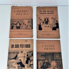 Libros de segunda mano: SOCIEDAD DE AUTORES ESPAÑOLES. 4 EJEMPLARES. VV. AA. MADRID. 1914.. Lote 167323972