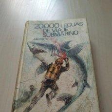 Libros de segunda mano: 20000 LEGUAS DE VIAJE SUBMARINO - JULIO VERNE. Lote 167643496