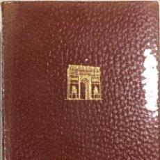 Libros de segunda mano: MAESTROS FRANCESES. NOVELAS. TOMO I. EDITORIAL PLANETA. BARCELONA, 1965. PLASTIFICADO. LEER.. Lote 167679200