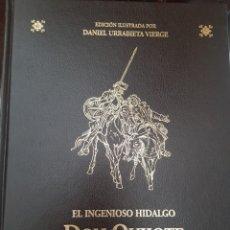 Libros de segunda mano: EL INGENIOSO HIDALGO DON QUIJOTE DE LA MANCHA EDICION ILUSTRADA POR DANIEL URRABIETA VIERGE. Lote 167854292