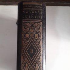 Libros de segunda mano: LIBRO DE OBRAS COMPLETAS TOMO SEGUNDO FIRMADO POR SU AUTOR JOSE MARIA PEMÁN. Lote 167950436