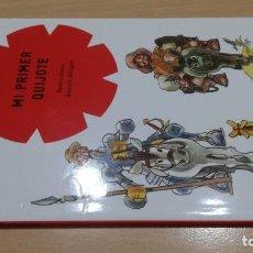 Libros de segunda mano: MI PRIMER QUIJOTE - ILUSTRACIONES ANTONIO MINGOTE - COMETA - PLANETA. Lote 167984716