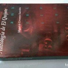 Libros de segunda mano: DON QUIJOTE DE LA MANCHA - ANTOLOGIA DE TEXTOS - EDICION DAMASO CHICHARRO CHAMORRO. Lote 167986584