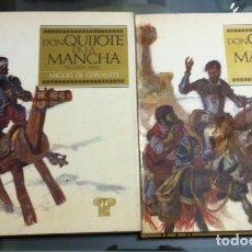 Libros de segunda mano: DON QUIJOTE DE LA MANCHA - OBRAS INMORTALES 2 TOMOS - VERON EDITOR - PRIMERA EDICIÓN 1968. Lote 235585865