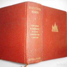 Libros de segunda mano: PUSCHKIN, LERMONTOV, GOGOL, DOSTOIEVSKI, TOLTOI MAESTROS RUSOS I Y94631. Lote 168173284