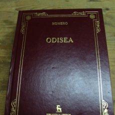 Livros em segunda mão: ODISEA, HOMERO, BIBLIOTECA GREDOS. Lote 209663353