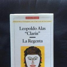 Libros de segunda mano: LA REGENTA DE LEOPOLDO ALAS CLARÍN. Lote 168566688