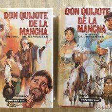 Libros de segunda mano: DON QUIJOTE DE LA MANCHA - DOS TOMOS - EDICIONES DALMAU EDITORS. Lote 168616540