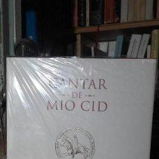 Livres d'occasion: CANTAR DE MIO CID. EDICION CONMEMORATIVA DEL VIII CENTENARIO DEL MANUSCRITO DE PER ABBAD.. Lote 168636692