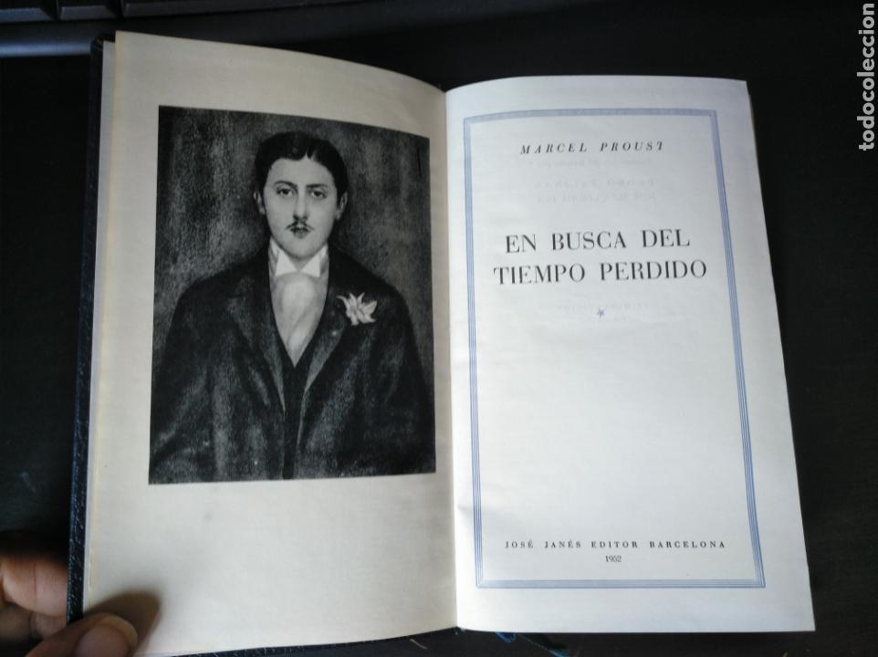 OBRAS COMPLETAS TOMO I. EN BUSCA DEL TIEMPO PERDIDO. MARCEL PROUST. JOSE JANES 1952 1 EDICIÓN (Libros de Segunda Mano (posteriores a 1936) - Literatura - Narrativa - Clásicos)