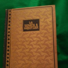 Libros de segunda mano: LA SONATA A KREUTZER. LEON TOLSTOI. 1969. 19 X 13,5 CM. 256 PAGINAS.. Lote 168843484