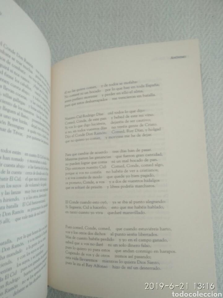 Libros de segunda mano: EL CANTAR DE MIO CID. ANÓNIMO CLÁSICO DE LITERATURA ESPAÑOLA - Foto 4 - 168917652