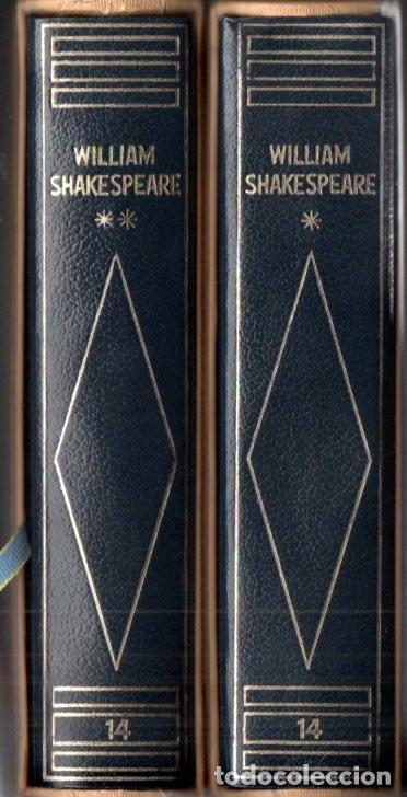 SHAKESPEARE : TEATRO COMPLETO - DOS TOMOS CON ESTUCHE (PLANETA 1970 Y 1973) EDICIÓN DE LUJO (Libros de Segunda Mano (posteriores a 1936) - Literatura - Narrativa - Clásicos)