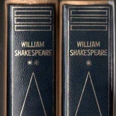 Libros de segunda mano: SHAKESPEARE : TEATRO COMPLETO - DOS TOMOS CON ESTUCHE (PLANETA 1970 Y 1973) EDICIÓN DE LUJO. Lote 168934089