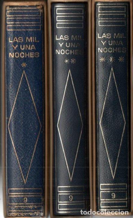 LAS MIL Y UNA NOCHES - TRES TOMOS CON ESTUCHE (PLANETA 1964 A 1972) EDICIÓN DE LUJO (Libros de Segunda Mano (posteriores a 1936) - Literatura - Narrativa - Clásicos)