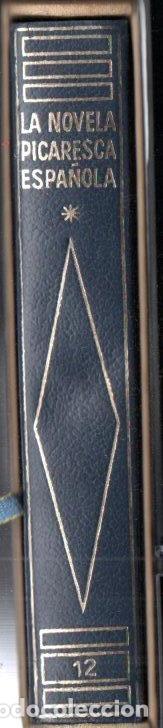 LA NOVELA PICARESCA ESPAÑOLA (PLANETA 1970) EDICIÓN DE LUJO CON ESTUCHE (Libros de Segunda Mano (posteriores a 1936) - Literatura - Narrativa - Clásicos)