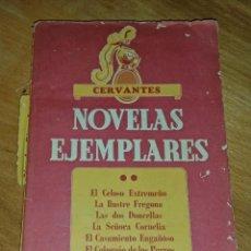 Libros de segunda mano: NOVELAS EJEMPLARES. Lote 168951700