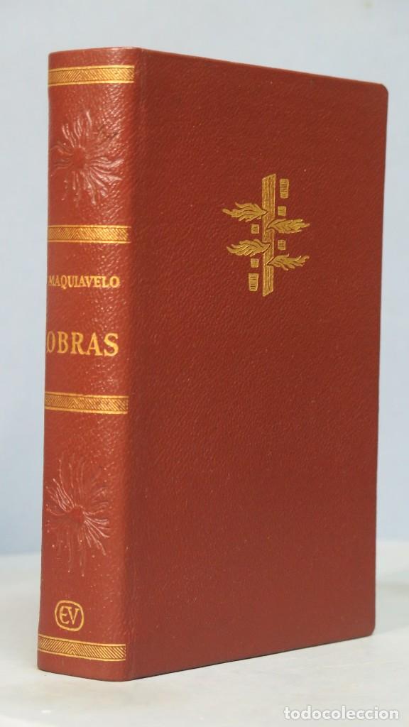 1965.- OBRAS. MAQUIAVELO. VERGARA (Libros de Segunda Mano (posteriores a 1936) - Literatura - Narrativa - Clásicos)
