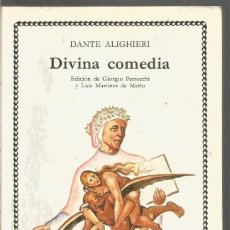 Libros de segunda mano: DANTE ALIGHIERI. DIVINA COMEDIA. CATEDRA. Lote 169015716