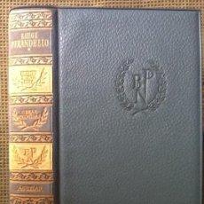 Libros de segunda mano: LIBRO. NOVELAS ESCOGIDAS DE SELMA LAGERLÖF. PREMIO NOBEL 1909.. Lote 169060812