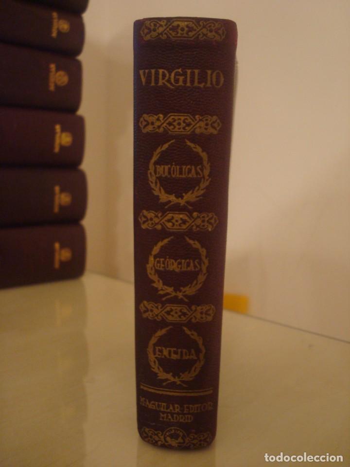 VIRGILIO. OBRAS COMPLETAS. AGUILAR. AÑOS 30. (Libros de Segunda Mano (posteriores a 1936) - Literatura - Narrativa - Clásicos)