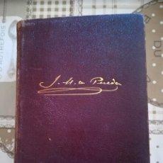 Libros de segunda mano: JOSÉ M. DE PEREDA - OBRAS COMPLETAS - M. AGUILAR EDITOR 1943. Lote 169330972