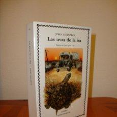 Libros de segunda mano: LAS UVAS DE LA IRA - JOHN STEINBECK - CATEDRA. Lote 169398792