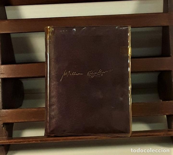 Libros de segunda mano: OBRAS COMPLETAS DE WILLIAM SHAKESPEARE. EDIT. AGUILAR. MADRID. 1941. - Foto 3 - 169653276