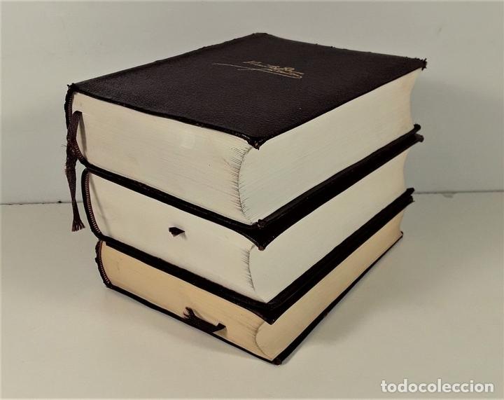 Libros de segunda mano: OBRAS COMPLETAS. V. BLASCO IBAÑEZ. TOMOS I, II Y III. EDIT. AGUILAR. MADRID. 1965/66. - Foto 2 - 169654836