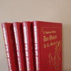 Libros de segunda mano: DON QUIJOTE - ILUSTRADO POR AURELIO TENO Y GUSTAVO DORE - LA GRAN ENCICLOPEDIA VASCA. Lote 169743108