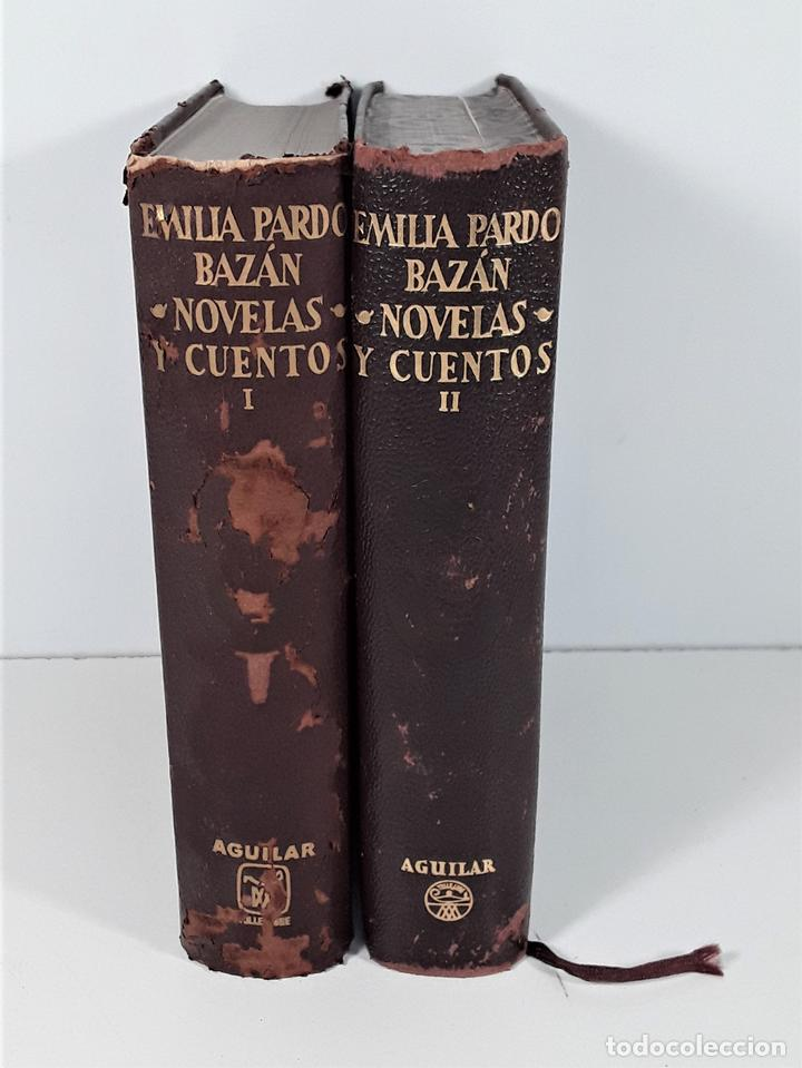 OBRAS COMPLETAS. EMILIA PARDOBAZAN. TOMOS I Y II. EDIT. AGUILAR. MADRID. 1956. (Libros de Segunda Mano (posteriores a 1936) - Literatura - Narrativa - Clásicos)