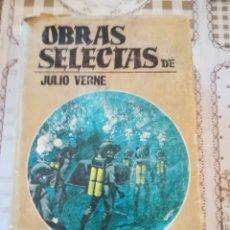 Libros de segunda mano: OBRAS SELECTAS TOMO PRIMERO - JULIO VERNE. Lote 169913724