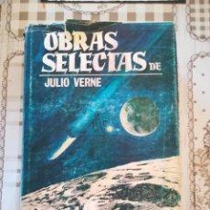 Libros de segunda mano: OBRAS SELECTAS TOMO SEGUNDO - JULIO VERNE. Lote 169913924