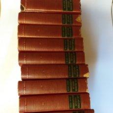 Libros de segunda mano: OBRAS COMPLETAS . LAS MEJORES NOVELAS CONTEMPORANEAS . 1895 1954 . 11 TOMOS. Lote 170007896