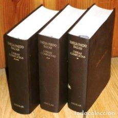 Libros de segunda mano: OBRAS COMPLETAS 3T POR EMILIA PARDO BAZÁN DE EDITORIAL AGUILAR EN MADRID 1973. Lote 170291420