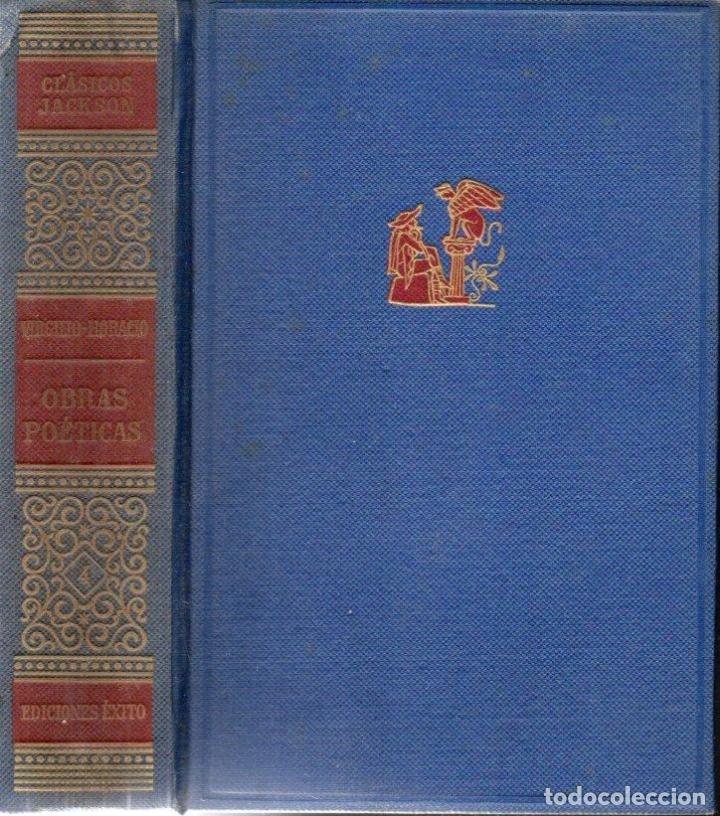 Libros de segunda mano: VIRGILIO Y HORACIO : OBRAS POÉTICAS (JACKSON, 1957) - Foto 2 - 170370080