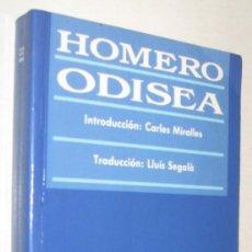 Libros de segunda mano: ODISEA - HOMERO. Lote 170853855