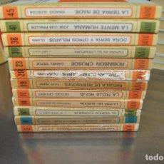 Libros de segunda mano: LOTE 12 LIBROS BIBLIOTECA BASICA SALVAT COLECCIÓN RTV NÚMEROS DEL 3 AL 45. Lote 170864750
